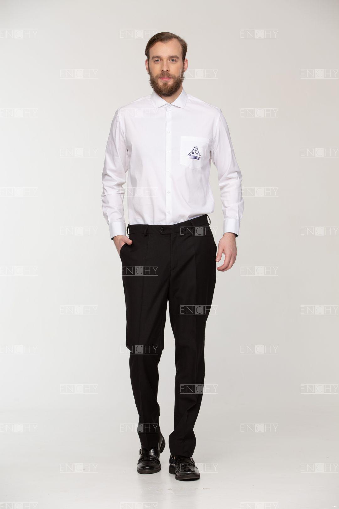 Сочетания мужских брюк, рубашки и пиджака по цвету